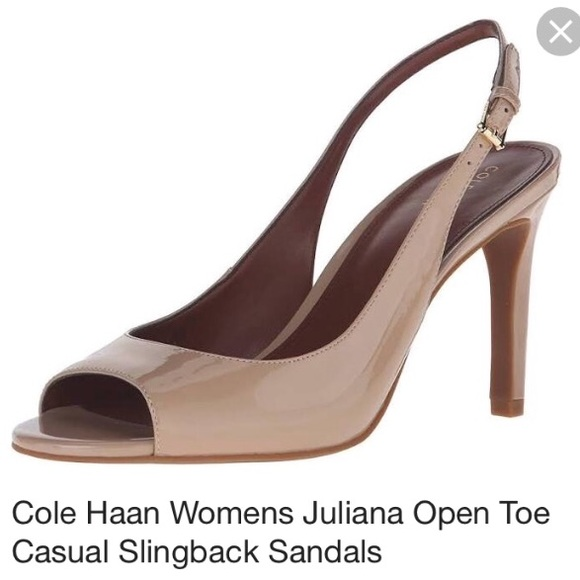 871bc5516dd Cole Haan Shoes - Cole Haan Juliana patent leather heels